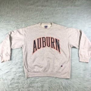 Vtg 90's Russell Athletic Pro Cotton Auburn Tigers